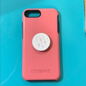 Accessories - Otter box case with pop socket